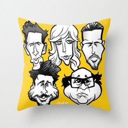 Sunny Philadelphia Throw Pillow