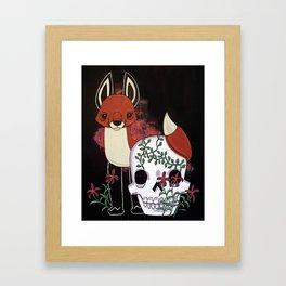 Fox and Fate Framed Art Print
