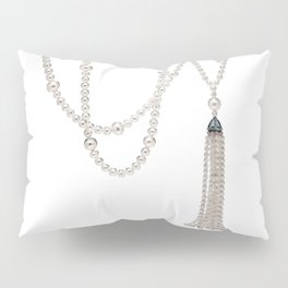White Pearl Pillow Sham