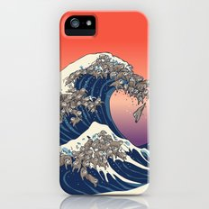The Great Wave of Sloth Slim Case iPhone (5, 5s)