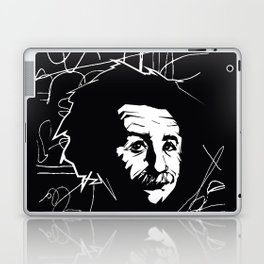 Albert Einstein Tribute Illustration Laptop & iPad Skin