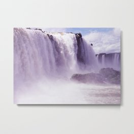 Travel Series: Iguazu Falls Metal Print