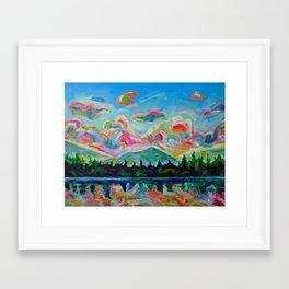 Okanagan Summer Framed Art Print