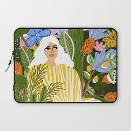 The Jungle Lady Laptop Sleeve