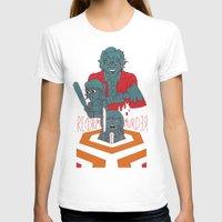 dramatical murder T-shirts featuring REDRUM//MURDER by Derek Eads