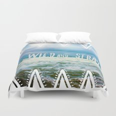 Be Wild and Stray. Duvet Cover