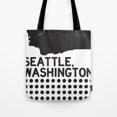 SEATTLE WASHINGTON Tote Bag