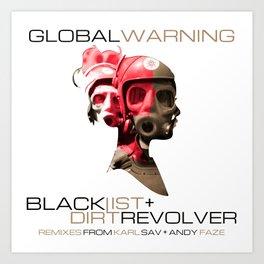 Global Warning Art Print