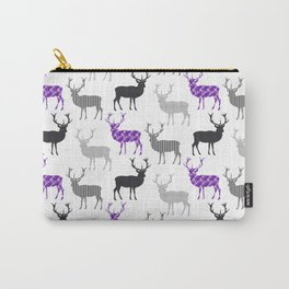 Winter Deer in the Snow Carry-All Pouch