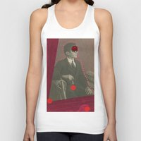 david lynch Tank Tops featuring David Lynch by Naomi Vona