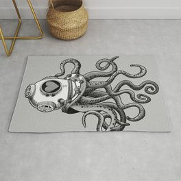 I'm falling in love with you? (Black and white) Rug