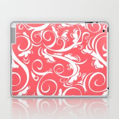 Floral Coral Laptop & iPad Skin