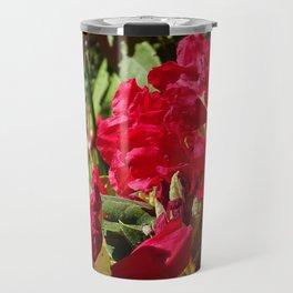 Scarlet Rhodies Travel Mug