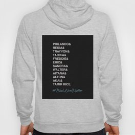 Say Their Names-Black Lives Matter Art Hoody