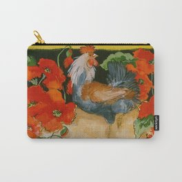 Tuscan Roosters Carry-All Pouch