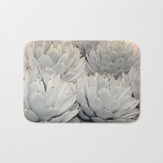 Succulent Blush Bath Mat