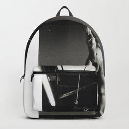 Helmut Newton Lisa Lyon at Home Venice California 1981) Society6 Online Timeless Art - Female Power Backpack