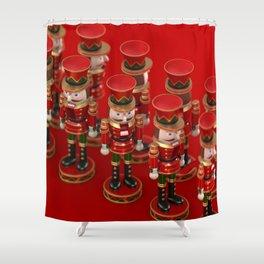 Nutcrackers Shower Curtain