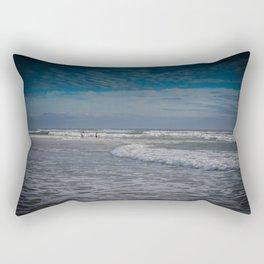 Gold Coast Beach Swim Rectangular Pillow