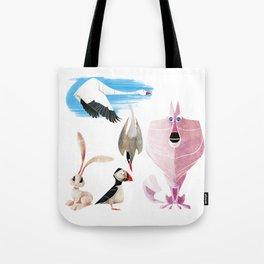 Arctic animals 2 Tote Bag