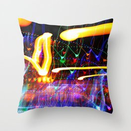Love Moves Fast Throw Pillow