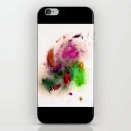 Shattered Bouqet iPhone Skin