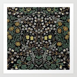 William Morris Blackthorn Art Print