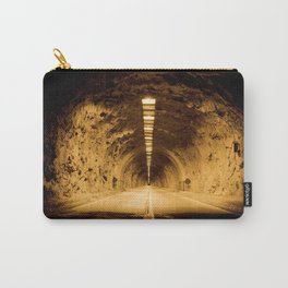 Late Hike Through Yosemite Tunnel Carry-All Pouch