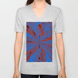 radial layers 20 Unisex V-Neck