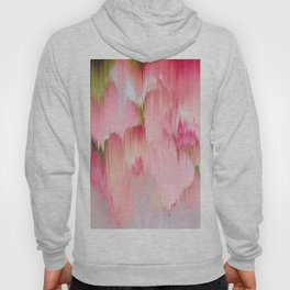 Artsy abstract blush pink watercolor brushstrokes Hoody