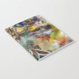 4 New Goddesses Notebook