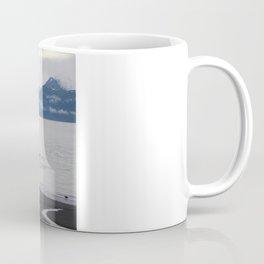 Solitude :: A Lone Kayaker Coffee Mug
