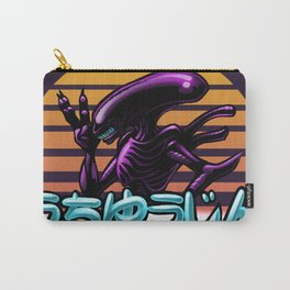 Retro Alien Carry-All Pouch