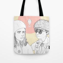 """""""I love you but you don't know what you're talking about"""" Tote Bag"""