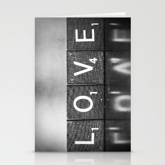 Love is a Beautiful Word - a fine art photograph Stationery Cards