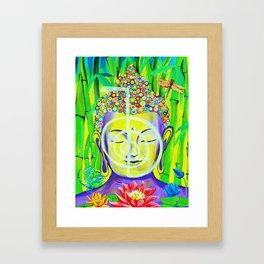 Buddha Cho Ku Rei Framed Art Print