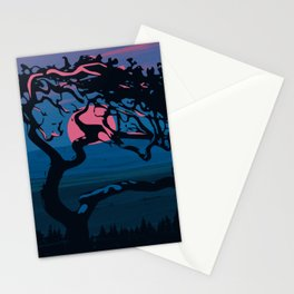 Dawn of the tree Stationery Cards