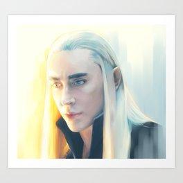 King of Starlight Art Print