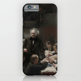 Thomas Eakins The Gross Clinic iPhone Case