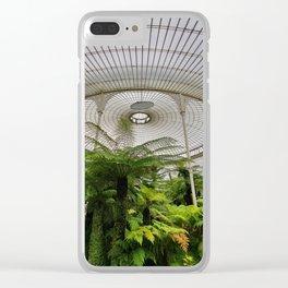 Glasgow Botanic Gardens Clear iPhone Case