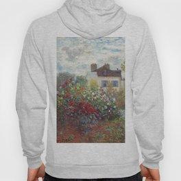 Claude Monet - The Artist's Garden in Argenteuil, A Corner of the Garden with Dahlias Hoody