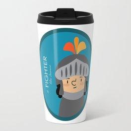 A Fighter like Jeanne d'Arc Travel Mug