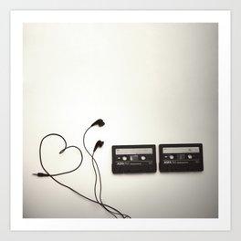 Feel the Music - 3 Art Print