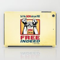 aelwen iPad Cases featuring FREE INDEED! by Peter Gross