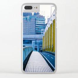 Bridge in Taipei Clear iPhone Case