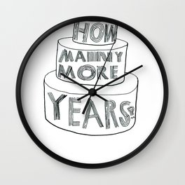BIRTHDAY SHIRT Wall Clock