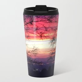 Fall Sunset II Travel Mug
