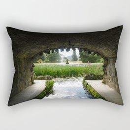 Under Bridge View Rectangular Pillow