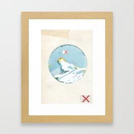 Conquered Summit Framed Art Print