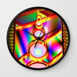 Window of fantasy  3 Wall Clock